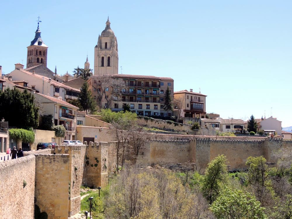 Segovia - view of Cathedral